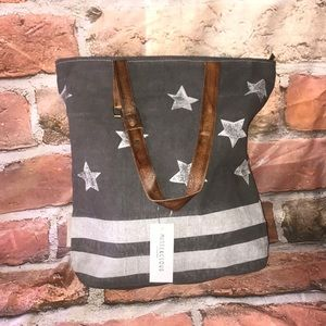 Musse&cloud Denim Black (light hue) Tote
